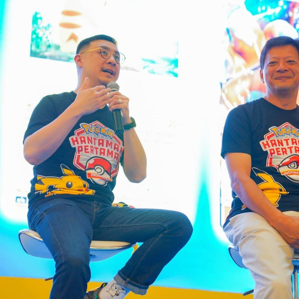Axton Salim, Direktur Eksekutif Salim Group memberikan pendapat seputar Pokémon Trading Card Game yang diluncurkan oleh PT. Anugerah Kreasi Gemilang / AKG Games.