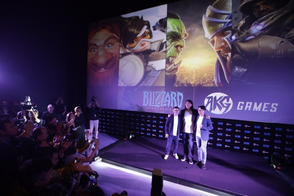 AKG Games partnership with Blizzard Entertainment