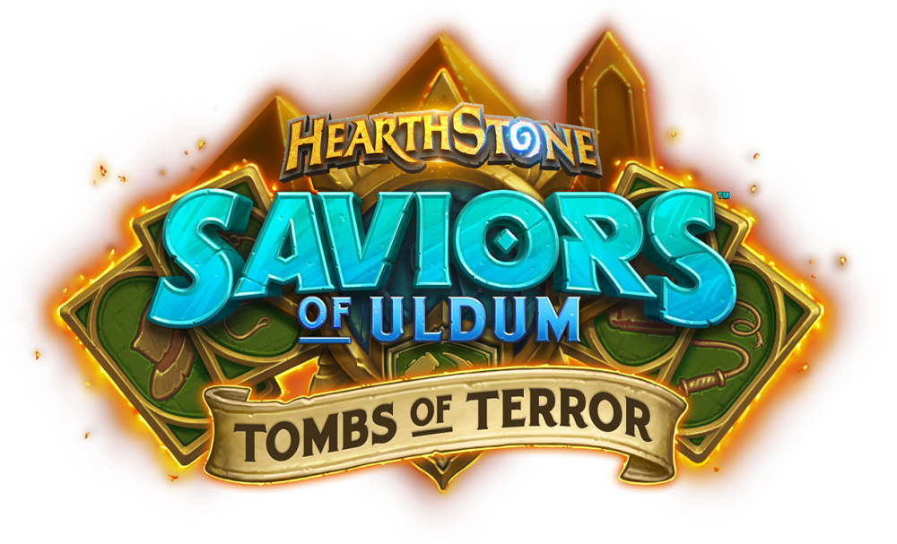 AKG Games with Blizzard Hearthstone Saviors of Uldum Tombs of Terror