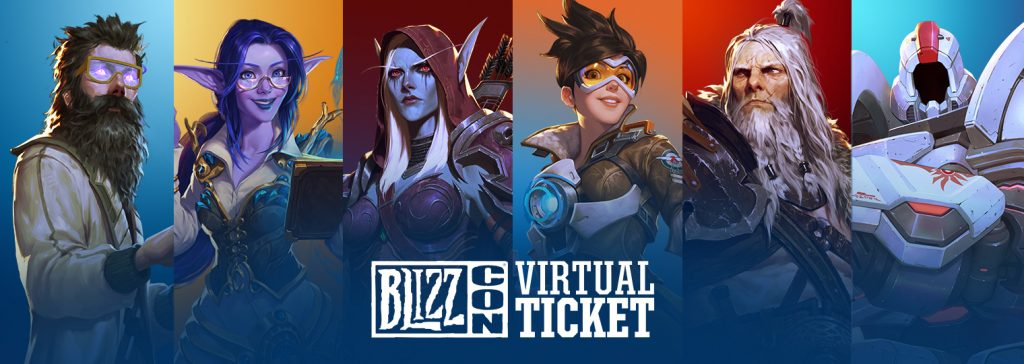 A new method of attending BlizzCon from home by ordering BlizzCon 2019 Virtual Tickets, can be purchased now from Blizzard Shop.