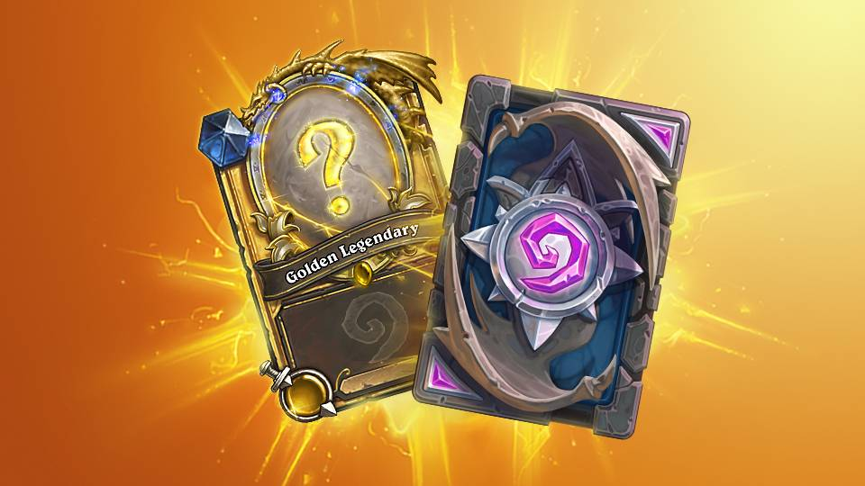 A mysterious Golden Legendary card that you can use for duels