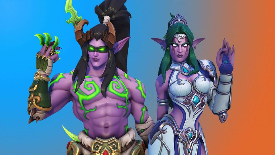 Get the Legendary Genji Skin and Symmetera Skin with the theme of Warcraft.