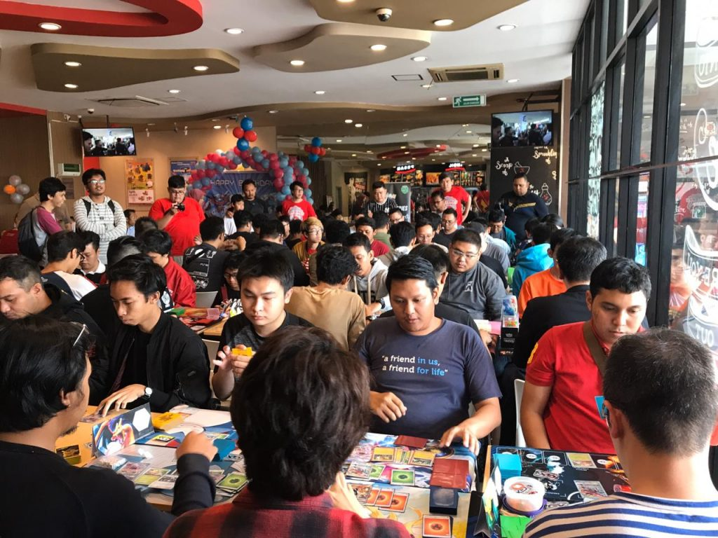 The atmosphere at the KFC Series on the 6th week that has taken place at KFC Tebet