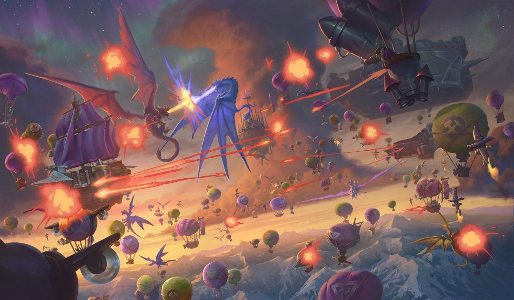 Hearthstone: Battlegrounds AKG Blizzard BlizzCon Descent of Dragons