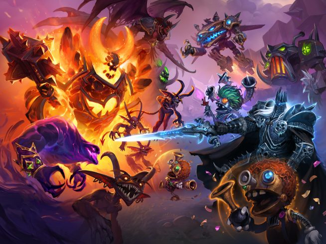AKG Hearthstone Battlegrounds Descent of Dragons