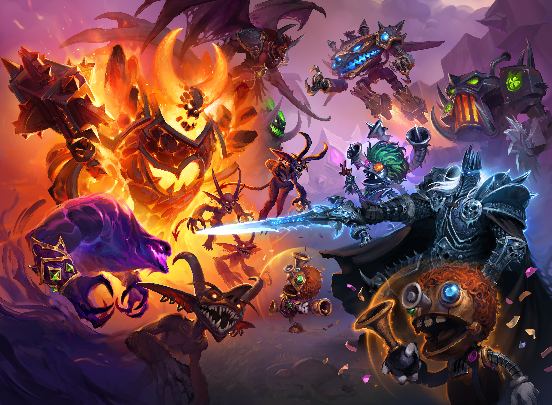 AKG Hearthstone Battlegrounds Descent of Dragons